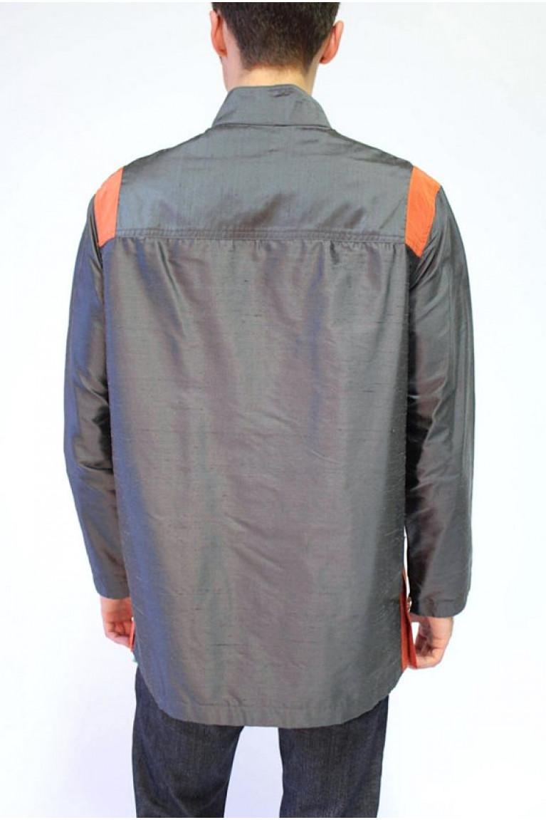 Reflective Silk Top