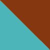 Aqua-Brown