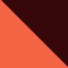 Burgundy-Orange