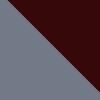 Grey-Burgundy
