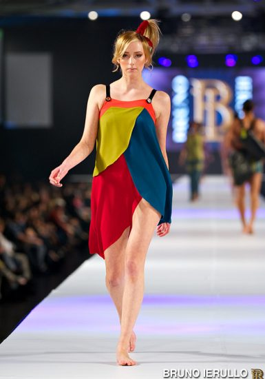 Bruno Ierullo 2013 Collection fashion show at the International Centre.